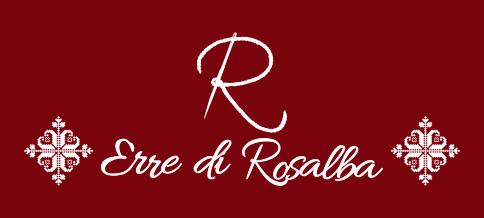 Logo Erre di Rosalba - borse fatte a mano con l'utilizzo di tessuti sardi e intrecci di giunco